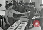 Image of US Army University Study Center after World War 2 France, 1946, second 10 stock footage video 65675068737