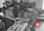Image of US Army University Study Center after World War 2 France, 1946, second 12 stock footage video 65675068737