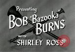 Image of Bob Burns United States USA, 1946, second 12 stock footage video 65675068739