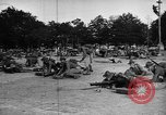 Image of United States Marines train with machine guns Key West Florida United States USA, 1918, second 5 stock footage video 65675068747