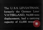 Image of SS Leviathan New York City Harbor USA, 1918, second 1 stock footage video 65675068751