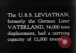 Image of SS Leviathan New York City Harbor USA, 1918, second 2 stock footage video 65675068751