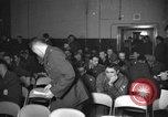 Image of briefing session United Kingdom, 1953, second 1 stock footage video 65675068765