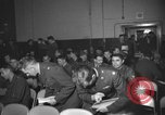Image of briefing session United Kingdom, 1953, second 4 stock footage video 65675068765