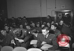 Image of briefing session United Kingdom, 1953, second 5 stock footage video 65675068765