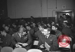Image of briefing session United Kingdom, 1953, second 7 stock footage video 65675068765
