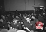 Image of briefing session United Kingdom, 1953, second 8 stock footage video 65675068765