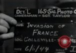 Image of United States troops Normandy France, 1944, second 3 stock footage video 65675068783