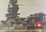 Image of battleship Nagato Japan, 1945, second 1 stock footage video 65675068790