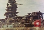 Image of battleship Nagato Japan, 1945, second 2 stock footage video 65675068790