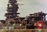 Image of battleship Nagato Japan, 1945, second 3 stock footage video 65675068790
