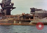 Image of battleship Nagato Japan, 1945, second 9 stock footage video 65675068790