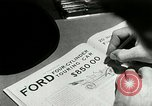 Image of Ford Model T production methods Detroit Michigan USA, 1916, second 5 stock footage video 65675068820