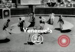 Image of bull fight school Venezuela, 1955, second 6 stock footage video 65675068829