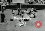 Image of bull fight school Venezuela, 1955, second 7 stock footage video 65675068829