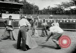 Image of bull fight school Venezuela, 1955, second 8 stock footage video 65675068829