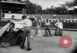 Image of bull fight school Venezuela, 1955, second 9 stock footage video 65675068829