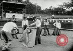 Image of bull fight school Venezuela, 1955, second 11 stock footage video 65675068829