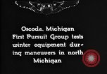 Image of Curtiss P-1 Hawk Oscoda Michigan USA, 1930, second 2 stock footage video 65675068846