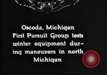 Image of Curtiss P-1 Hawk Oscoda Michigan USA, 1930, second 6 stock footage video 65675068846