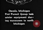 Image of Curtiss P-1 Hawk Oscoda Michigan USA, 1930, second 7 stock footage video 65675068846