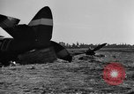 Image of U.S. aircraft destroyed on D-day, 1944 France, 1944, second 4 stock footage video 65675068873