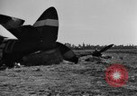 Image of U.S. aircraft destroyed on D-day, 1944 France, 1944, second 5 stock footage video 65675068873
