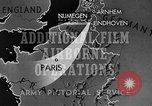 Image of Operation Market Garden Allied invasion Nijmegen Netherlands, 1944, second 8 stock footage video 65675068875