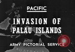 Image of 1st Marine Division Palau Islands, 1944, second 2 stock footage video 65675068877