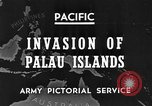 Image of 1st Marine Division Palau Islands, 1944, second 6 stock footage video 65675068877