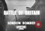 Image of Battle of Britain blitzkrieg damage London England United Kingdom, 1940, second 2 stock footage video 65675068880