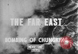 Image of bombing of Chungking Chungking China, 1943, second 5 stock footage video 65675068882
