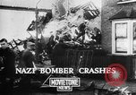 Image of Nazi bomber crash United Kingdom, 1940, second 10 stock footage video 65675068885