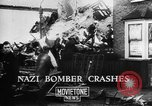 Image of Nazi bomber crash United Kingdom, 1940, second 11 stock footage video 65675068885