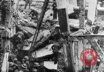 Image of clean up of bombing raid damage United Kingdom, 1940, second 10 stock footage video 65675068886