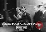 Image of British aircraft plant United Kingdom, 1940, second 3 stock footage video 65675068887