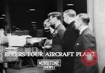 Image of British aircraft plant United Kingdom, 1940, second 4 stock footage video 65675068887