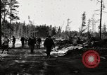 Image of German prisoners Munising Michigan USA, 1944, second 7 stock footage video 65675068891