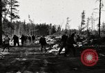 Image of German prisoners Munising Michigan USA, 1944, second 9 stock footage video 65675068891