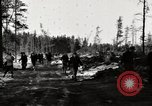 Image of German prisoners Munising Michigan USA, 1944, second 11 stock footage video 65675068891