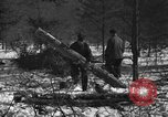 Image of German prisoners Munising Michigan USA, 1944, second 2 stock footage video 65675068893