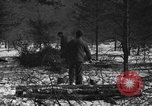 Image of German prisoners Munising Michigan USA, 1944, second 9 stock footage video 65675068893