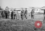 Image of gunners training France, 1918, second 9 stock footage video 65675068932