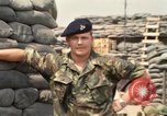 Image of Sergeant Sewart Vietnam, 1969, second 10 stock footage video 65675068970