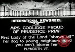 Image of John Calvin Coolidge Plymouth Vermont USA, 1926, second 1 stock footage video 65675068974