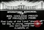 Image of John Calvin Coolidge Plymouth Vermont USA, 1926, second 3 stock footage video 65675068974
