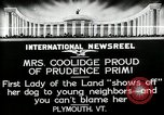 Image of John Calvin Coolidge Plymouth Vermont USA, 1926, second 7 stock footage video 65675068974