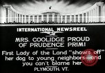 Image of John Calvin Coolidge Plymouth Vermont USA, 1926, second 11 stock footage video 65675068974