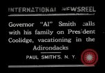Image of John Calvin Coolidge Paul Smiths New York USA, 1926, second 1 stock footage video 65675068975