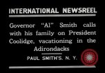 Image of John Calvin Coolidge Paul Smiths New York USA, 1926, second 2 stock footage video 65675068975